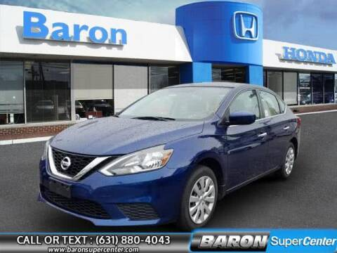 2017 Nissan Sentra for sale at Baron Super Center in Patchogue NY