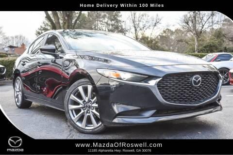 2020 Mazda Mazda3 Sedan for sale at Mazda Of Roswell in Roswell GA