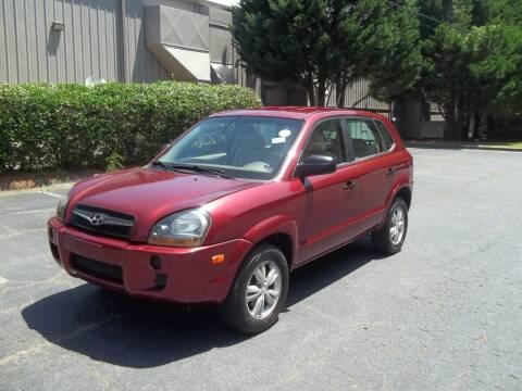 2009 Hyundai Tucson for sale at Key Auto Center in Marietta GA