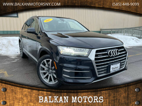 2017 Audi Q7 for sale at BALKAN MOTORS in East Rochester NY