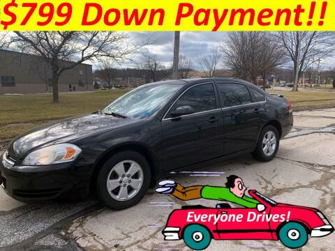 2008 Chevrolet Impala for sale at World Automotive in Euclid OH
