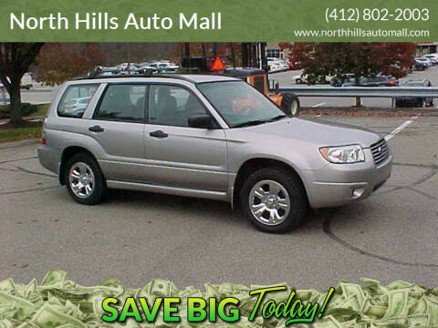 2006 Subaru Forester for sale at North Hills Auto Mall in Pittsburgh PA