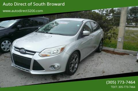 2014 Ford Focus for sale at Auto Direct of South Broward in Miramar FL