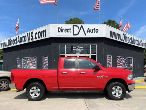 2016 RAM Ram Pickup 1500 for sale at Direct Auto in D'Iberville MS
