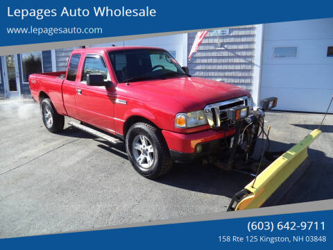 2006 Ford Ranger for sale at Lepages Auto Wholesale in Kingston NH