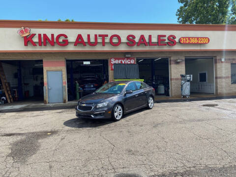 2015 Chevrolet Cruze for sale at KING AUTO SALES  II in Detroit MI