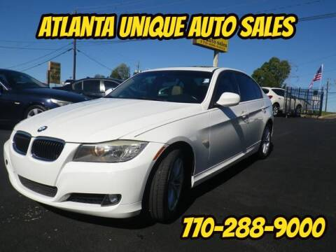 2010 BMW 3 Series for sale at Atlanta Unique Auto Sales in Norcross GA