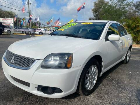 2011 Mitsubishi Galant for sale at RoMicco Cars and Trucks in Tampa FL