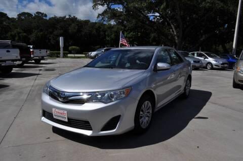 2012 Toyota Camry for sale at STEPANEK'S AUTO SALES & SERVICE INC. in Vero Beach FL
