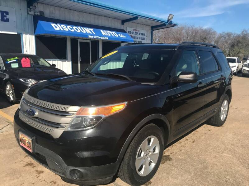 2014 Ford Explorer for sale at Discount Auto Company in Houston TX