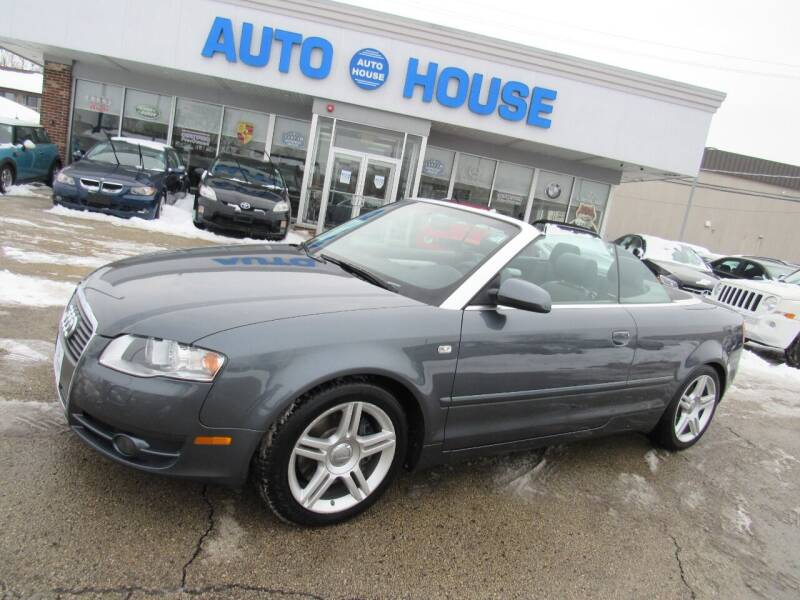 2008 Audi A4 for sale at Auto House Motors in Downers Grove IL