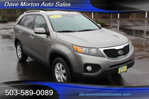 2011 Kia Sorento for sale at Dave Morton Auto Sales in Salem OR