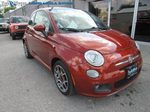 2012 FIAT 500 for sale at TWIN RIVERS CHRYSLER JEEP DODGE RAM in Beatrice NE