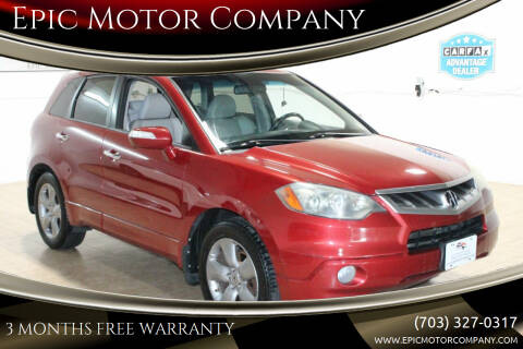 2008 Acura RDX for sale at Epic Motor Company in Chantilly VA