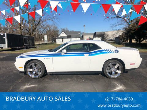 2011 Dodge Challenger for sale at BRADBURY AUTO SALES in Gibson City IL