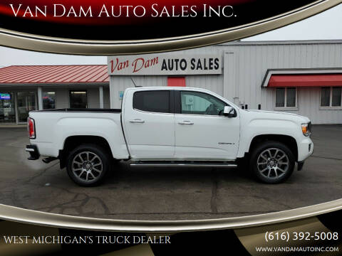 2018 GMC Canyon for sale at Van Dam Auto Sales Inc. in Holland MI