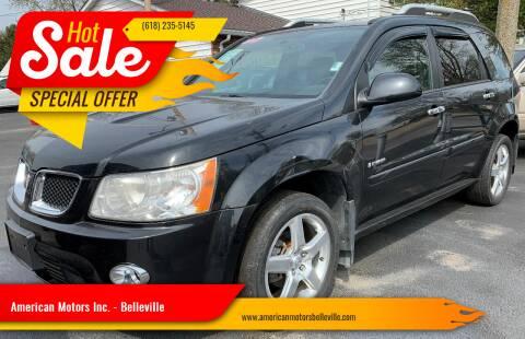 2008 Pontiac Torrent for sale at American Motors Inc. - Belleville in Belleville IL