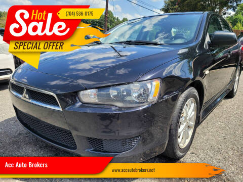 2014 Mitsubishi Lancer for sale at Ace Auto Brokers in Charlotte NC