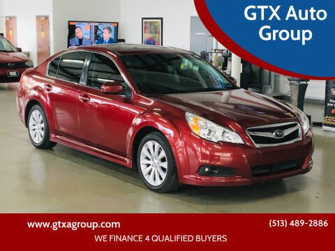 2012 Subaru Legacy for sale at GTX Auto Group in West Chester OH