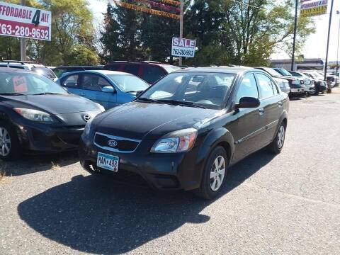 2010 Kia Rio for sale at Affordable 4 All Auto Sales in Elk River MN