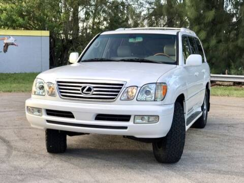 2006 Lexus LX 470 for sale at Exclusive Impex Inc in Davie FL