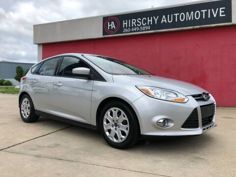 2012 Ford Focus for sale at Hirschy Automotive in Fort Wayne IN