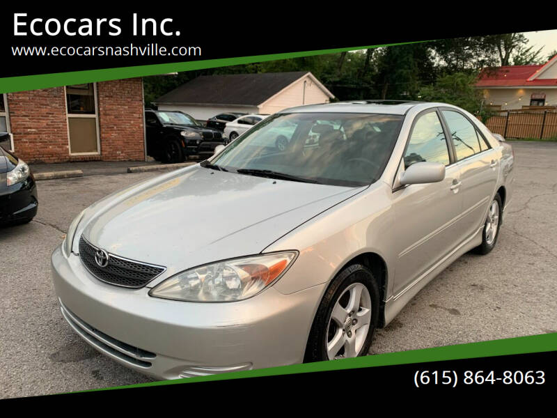 2004 Toyota Camry for sale at Ecocars Inc. in Nashville TN