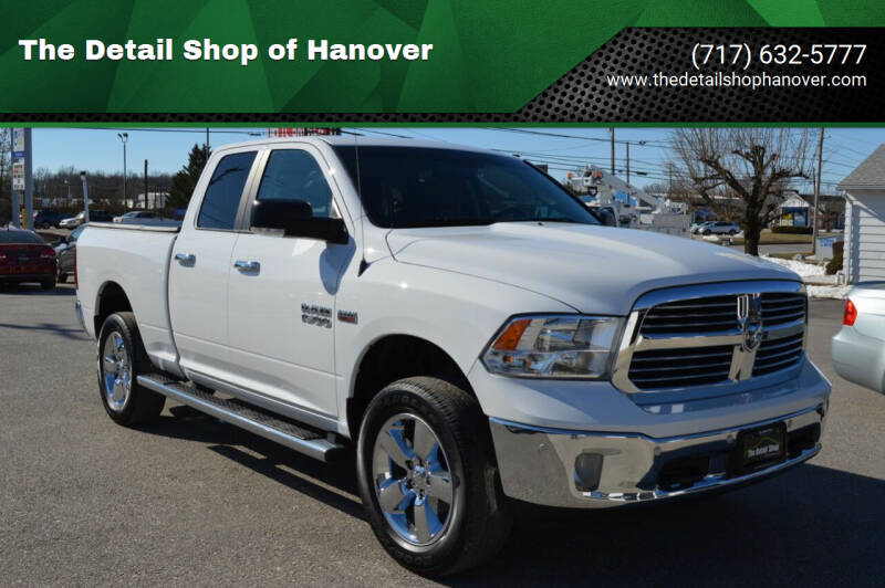 2016 RAM Ram Pickup 1500 for sale at The Detail Shop of Hanover in New Oxford PA