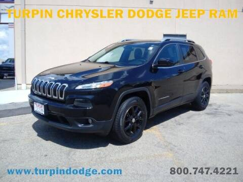 2014 Jeep Cherokee for sale at Turpin Dodge Chrysler Jeep Ram in Dubuque IA