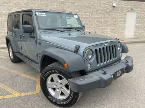 2014 Jeep Wrangler Unlimited for sale at Trocci's Auto Sales in West Pittsburg PA