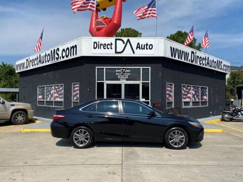 2016 Toyota Camry for sale at Direct Auto in D'Iberville MS