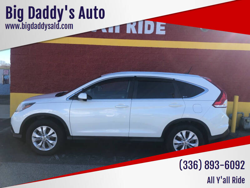 2012 Honda CR-V for sale at Big Daddy's Auto in Winston-Salem NC