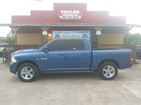 2010 Dodge Ram Pickup 1500 for sale at Taylor Trading Co in Beaumont TX