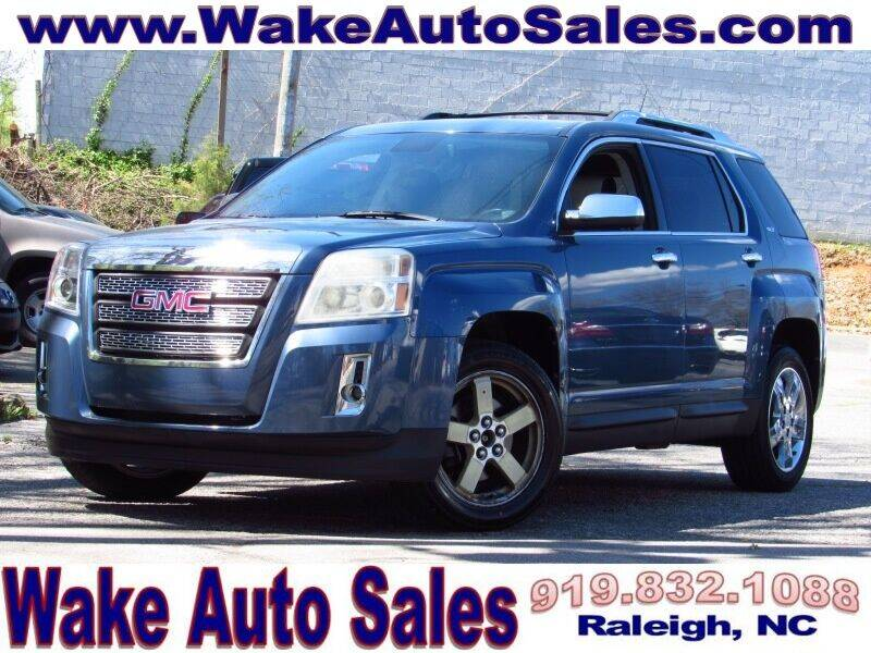 2012 GMC Terrain for sale at Wake Auto Sales Inc in Raleigh NC
