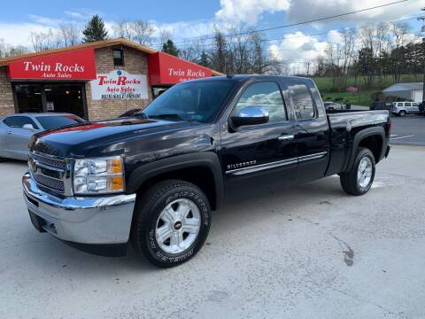 2013 Chevrolet Silverado 1500 for sale at Twin Rocks Auto Sales LLC in Uniontown PA