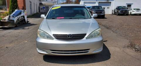 2003 Toyota Camry for sale at Russo's Auto Exchange LLC in Enfield CT