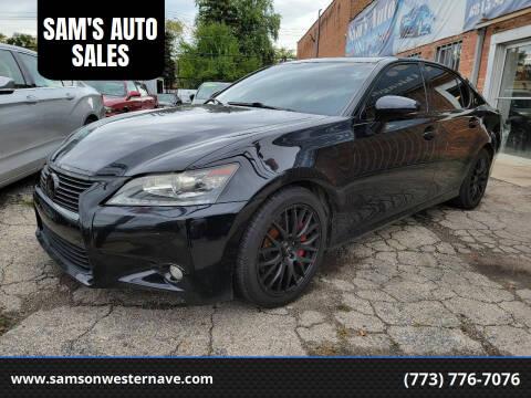 2013 Lexus GS 350 for sale at SAM'S AUTO SALES in Chicago IL
