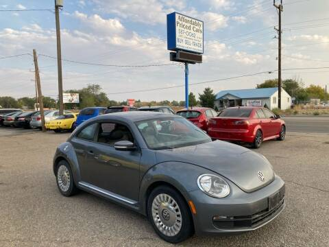 2014 Volkswagen Beetle for sale at AFFORDABLY PRICED CARS LLC in Mountain Home ID
