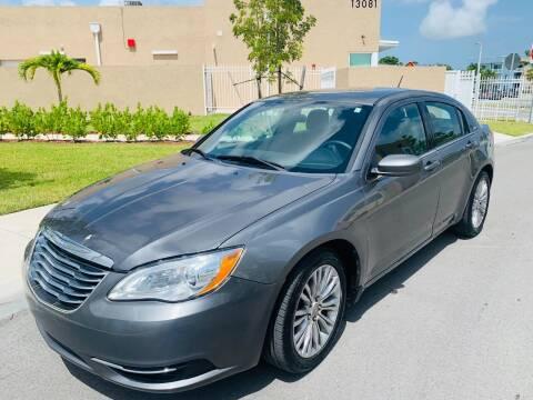 2012 Chrysler 200 for sale at LA Motors Miami in Miami FL