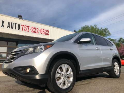 2013 Honda CR-V for sale at Trimax Auto Group in Norfolk VA