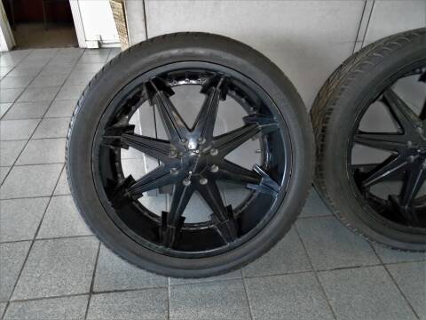 "DUBS   26""   8 Lug  w/ Tires Hummer ,    Silverado 2500 for sale at Auto Headquarters in Lakewood NJ"