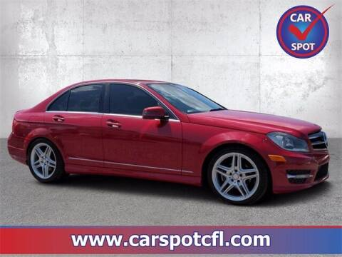 2014 Mercedes-Benz C-Class for sale at Car Spot Of Central Florida in Melbourne FL