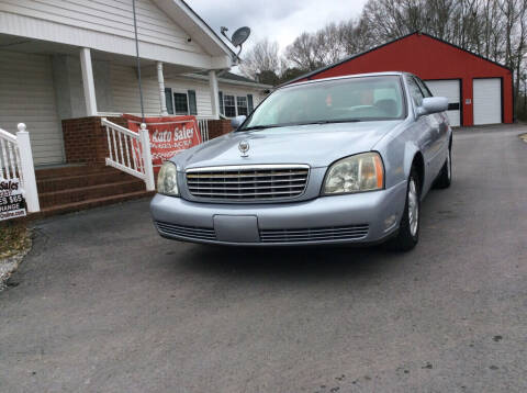2005 Cadillac DeVille for sale at Ace Auto Sales - $800 DOWN PAYMENTS in Fyffe AL
