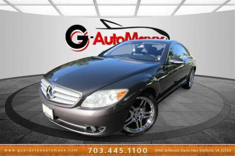 2008 Mercedes-Benz CL-Class for sale at Guarantee Automaxx in Stafford VA