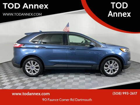2019 Ford Edge for sale at TOD Annex in North Dartmouth MA