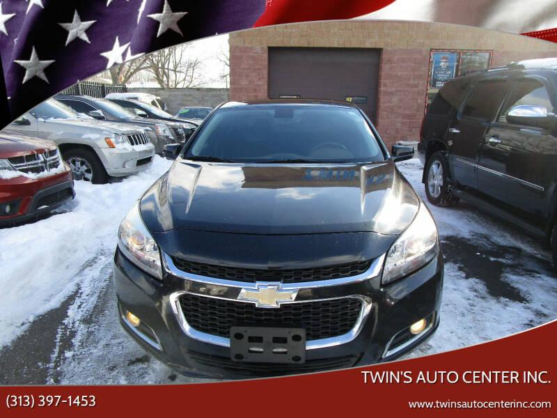 2014 Chevrolet Malibu for sale at Twin's Auto Center Inc. in Detroit MI