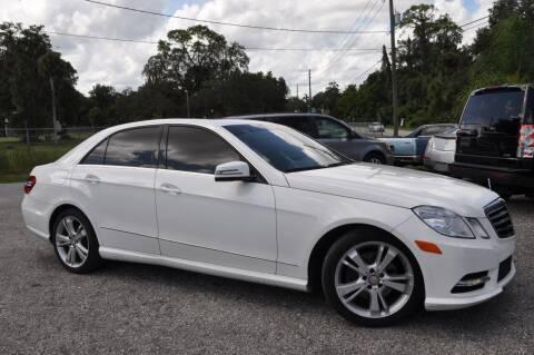 2013 Mercedes-Benz E-Class for sale at Elite Motorcar, LLC in Deland FL