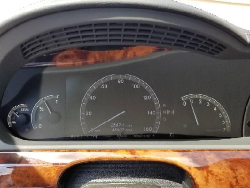 2008 Mercedes-Benz S-Class AWD S 550 4MATIC 4dr Sedan - Villa Park IL