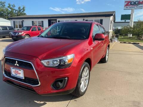 2015 Mitsubishi Outlander Sport for sale at Zoom Auto Sales in Oklahoma City OK