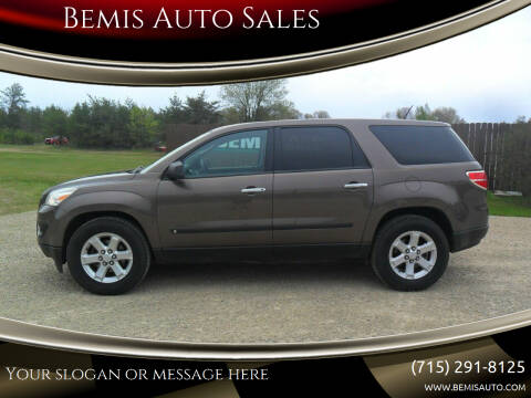 2009 Saturn Outlook for sale at Bemis Auto Sales in Crivitz WI